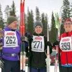 Örjan, Hanna och Eva Mari Fredriksson (Foto: Michiel van Nimwegen)