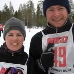 Hanna Fredriksson och Michiel van Nimwegen (Foto: Örjan Fredriksson)